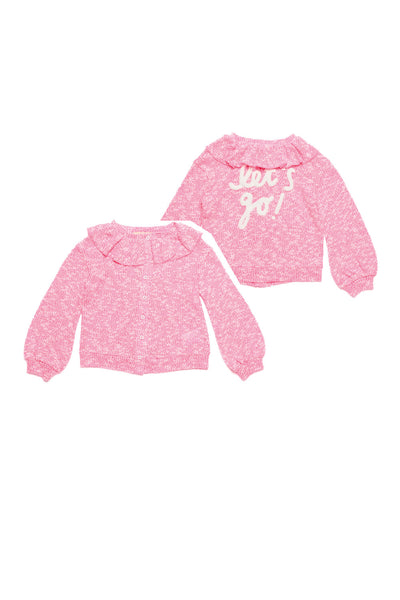 Dou Dou ss21 Fleece Cardigan