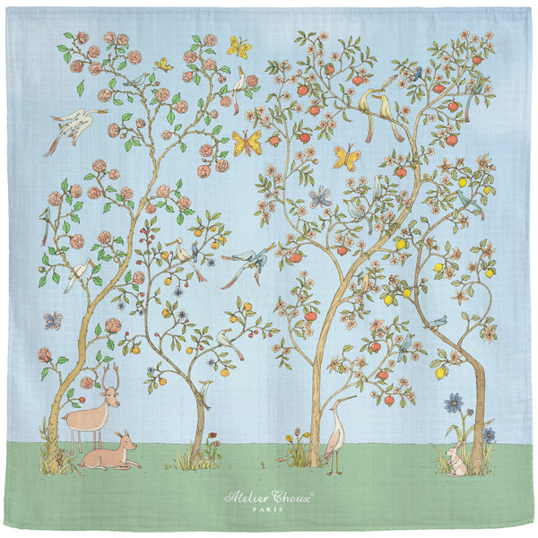Atelier Choux Chinoiserie Swaddle
