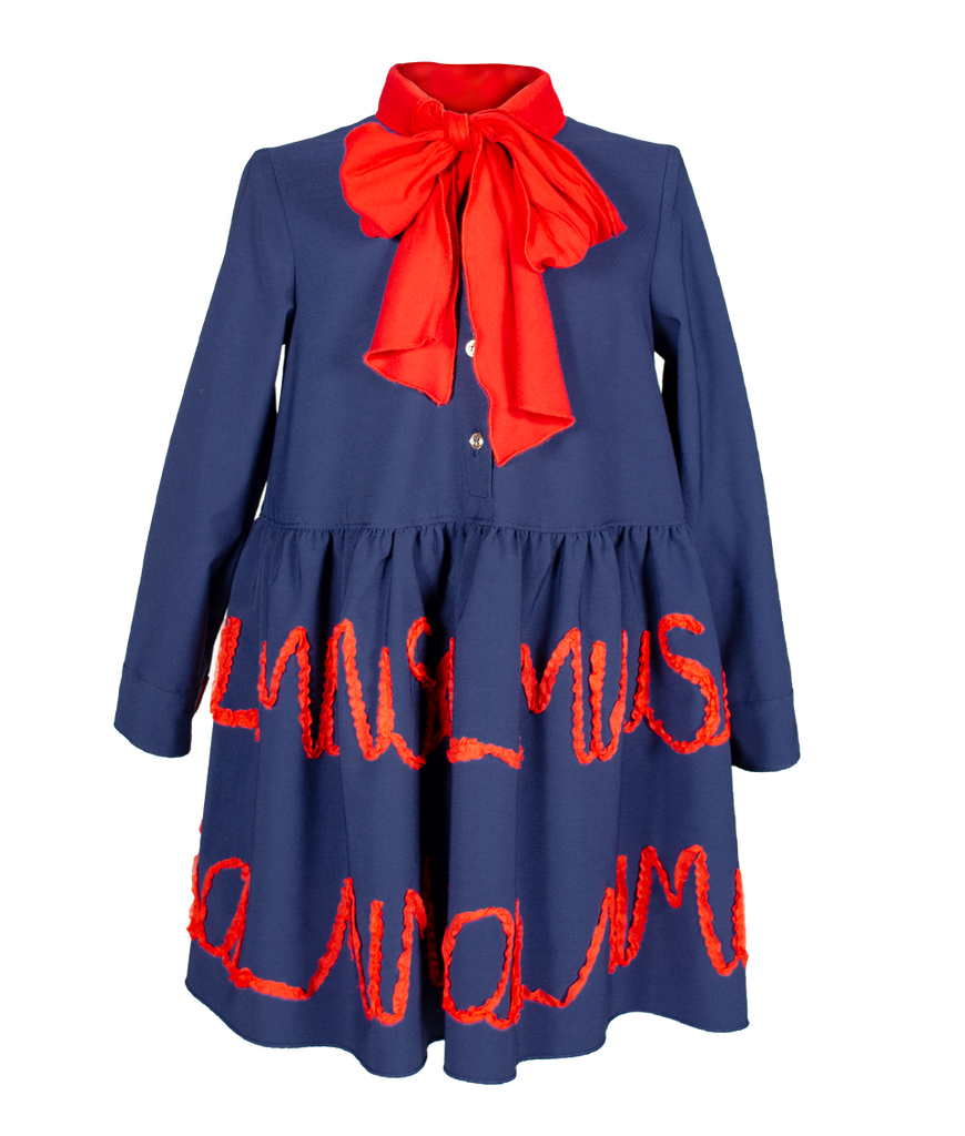 Mimi Fw20 Red Logo Dress