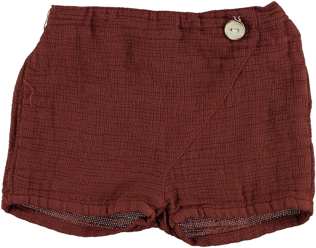 Violeta ss21 Brown Gabo Shorts