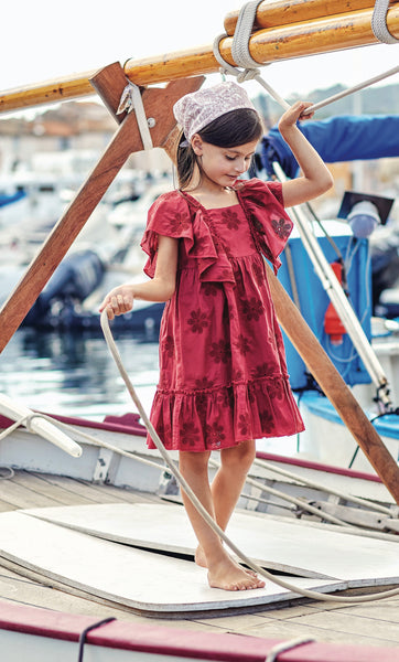 Tartine ss21 Red Sienne Dress