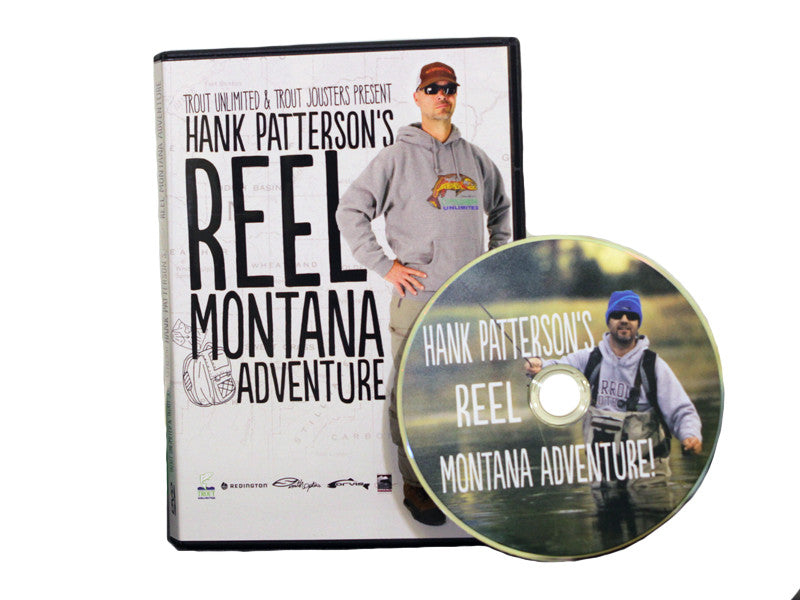 Hank Patterson's Reel Montana Adventure DVD