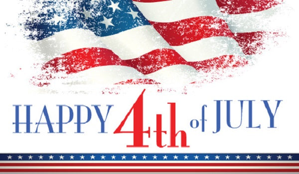 Office Closed Wednesday, July 4th, 2018