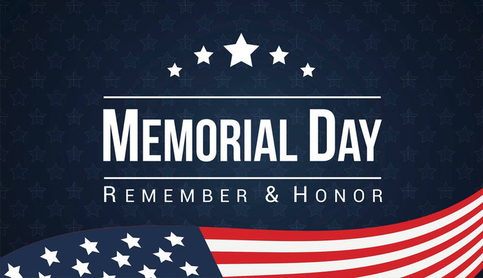 Memorial Day Closure 2018...