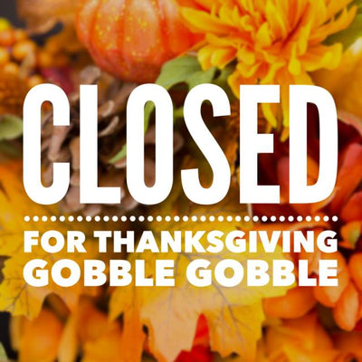 ACU will be closed Thursday, November 22nd and Friday, the 23rd for the Thanksgiving Holiday...