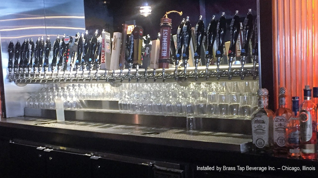 Draft Beer tap Tower Custom with Multiple Taps