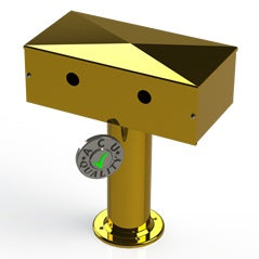 "Draft Beer T- Tower | 3"" Single Pedestal 