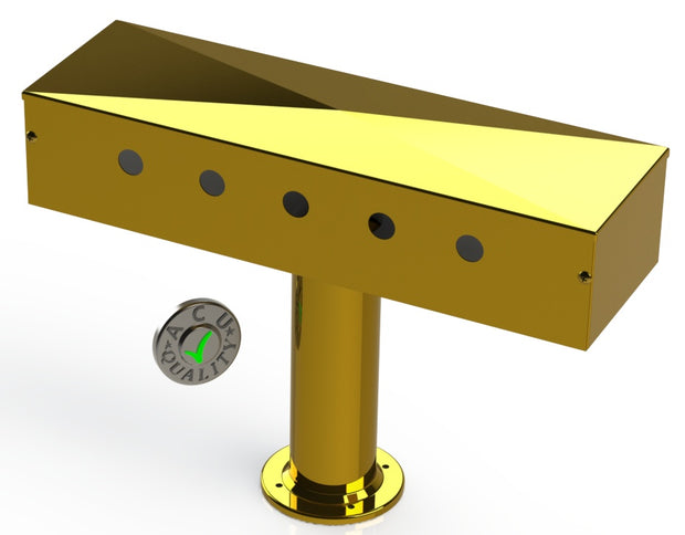 "Draft Beer T-Tower | 3"" Single Pedestal 