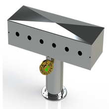 "Load image into Gallery viewer, Draft Beer T-Tower | 4"" Single Pedestal 
