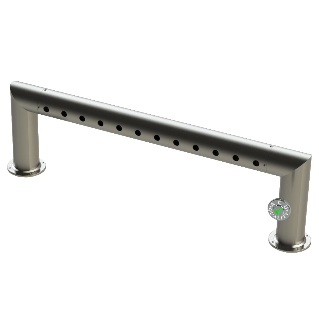 "Modular Draft Beer Pass Thru Tower | 12 Faucet Holes | 47"" Long 
