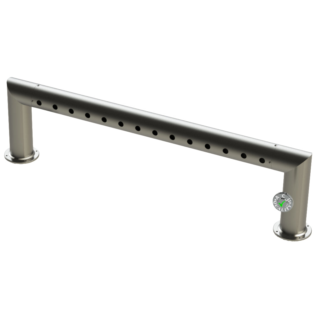 "Modular Draft Beer Pass Thru Tower | 14 Faucet Holes | 53"" Long 