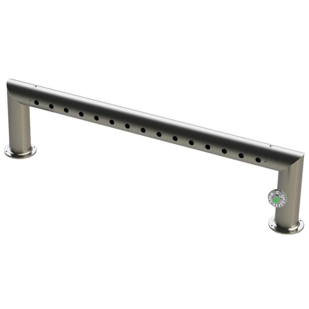 "Modular Draft Beer Pass Thru Tower | 15 Faucet Holes | 56"" Long 