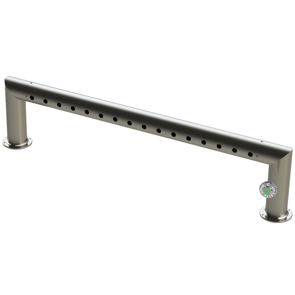 "Modular Draft Beer Pass Thru Tower | 16 Faucet Holes | 59"" Long 