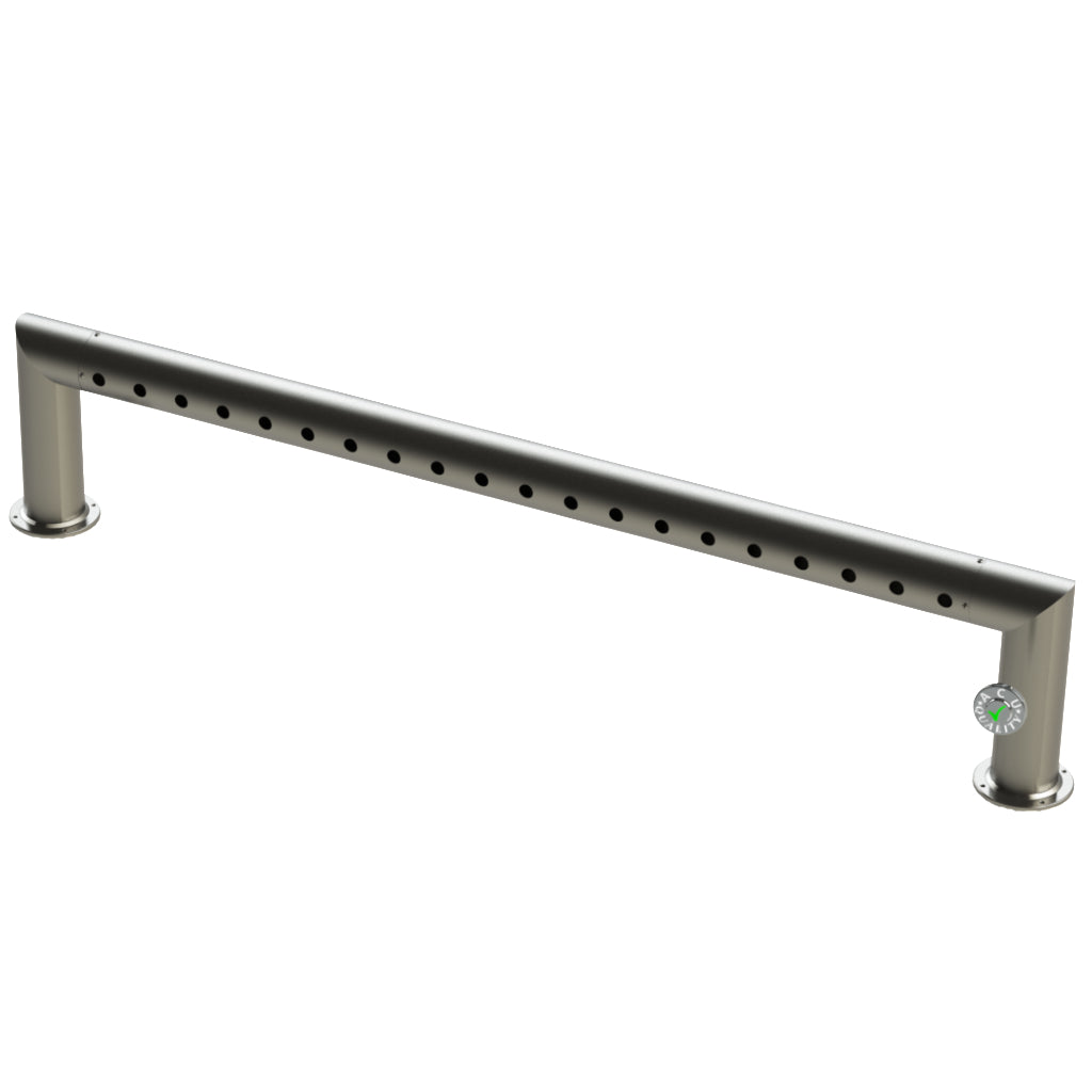 "Modular Draft Beer Pass Thru Tower | 20 Faucet Holes | 71"" Long 