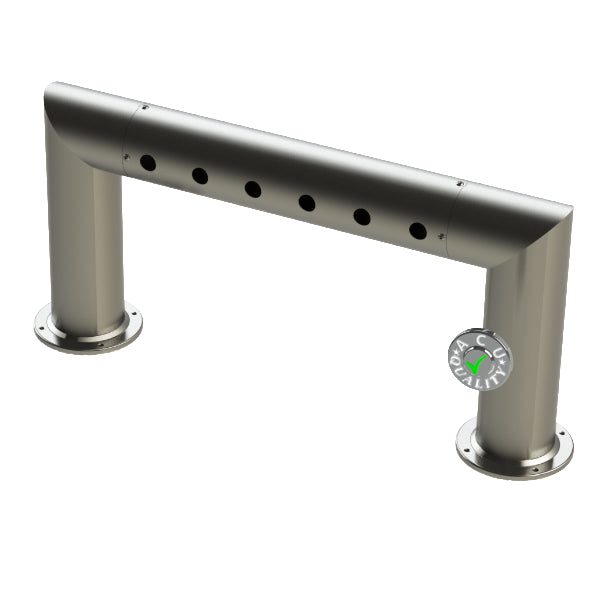 "Modular Draft Beer Pass Thru Tower | 6 Faucet Holes | 29"" Long 