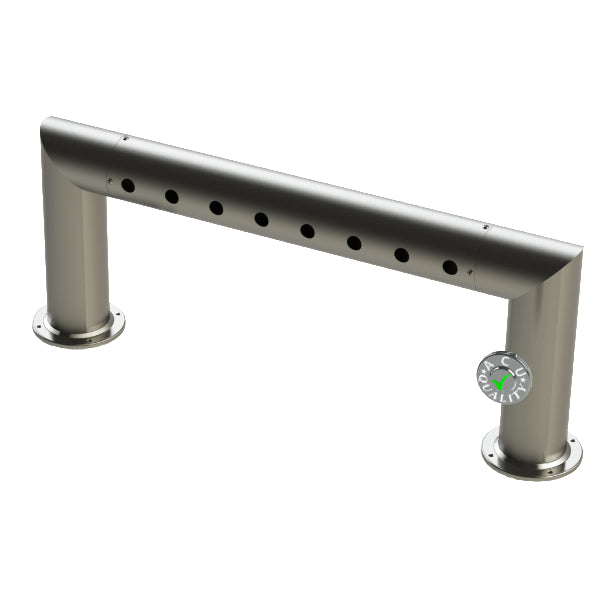 "Modular Draft Beer Pass Thru Tower | 8 Faucet Holes | 35"" Long 
