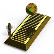 "16"" Bevel Edge Drip Tray With Drain 
