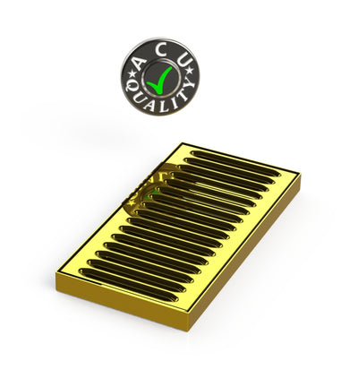 "5"" X 10"" X 3/4"" Surface Mount Drip Tray 