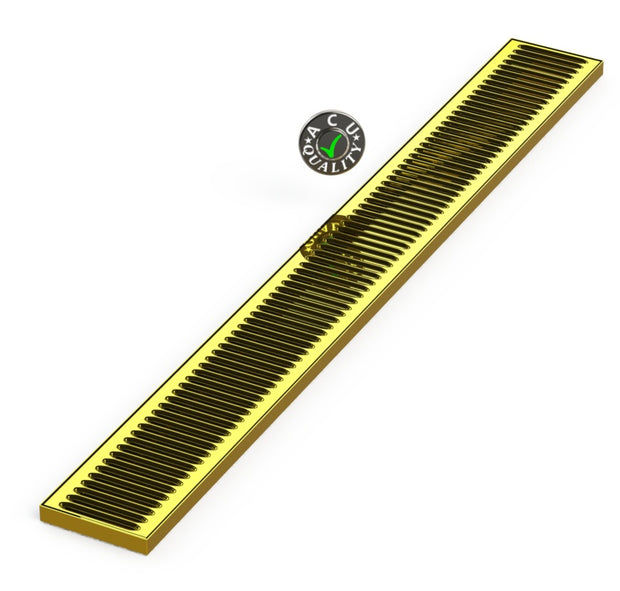 "5"" X 45"" X 3/4"" Surface Mount Drip Tray 