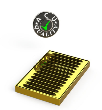 "5"" X 5"" X 3/4"" Surface Mount Drip Tray 