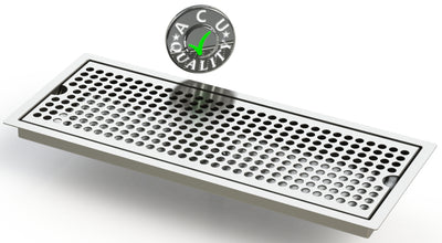 "Flush Mount 6"" X 16"" X ¾"" Drip Tray 