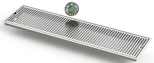 "Flush Mount 8"" X 30"" X ¾"" Drip Tray 