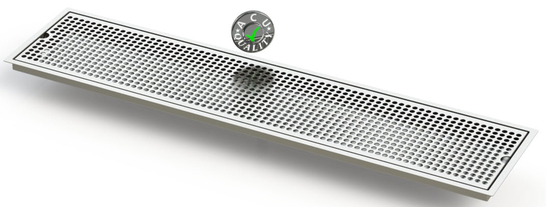 "Flush Mount 8"" X 36"" X ¾"" Drip Tray 