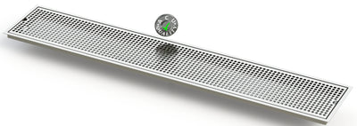 "Flush Mount 8"" X 45"" X ¾"" Drip Tray 