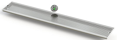 "Flush Mount 8"" X 48"" X ¾"" Drip Tray 