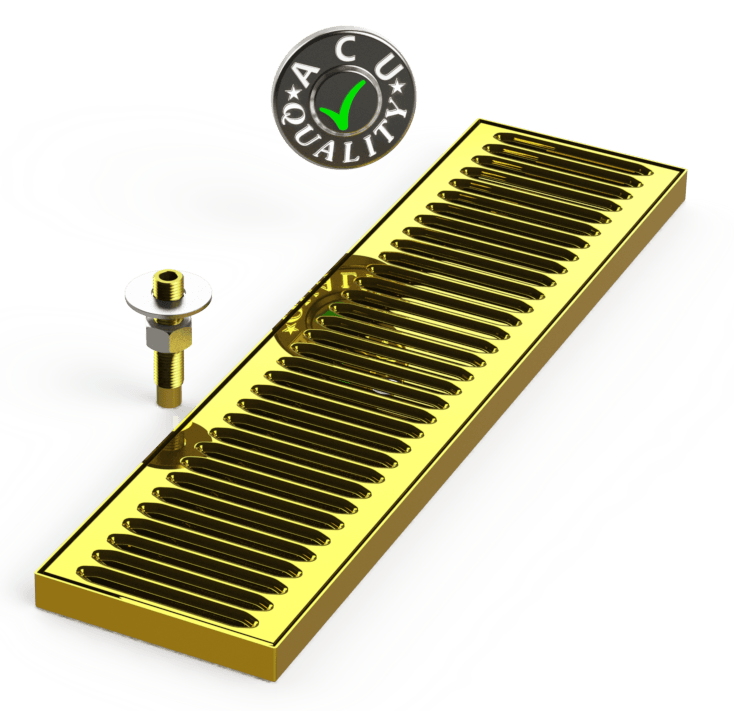 Surface Mount Drip Tray with Drain 5