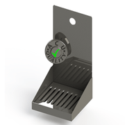 Jockey Box | Wall Mounted Drip Tray | Mirror Stainless Steel - ACU Precision Sheet Metal