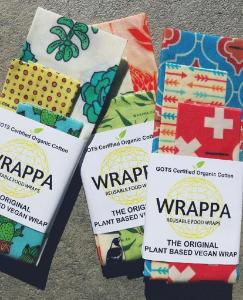 Wrappa Reusable Food Wraps - Vegan