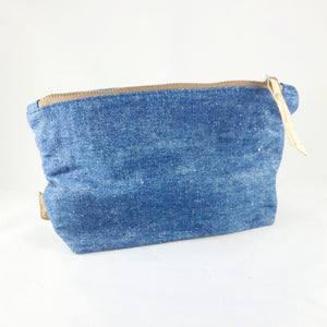 Hemp Denim Zipper Bag
