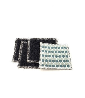 Reusable Nail Wipes - Set of 4