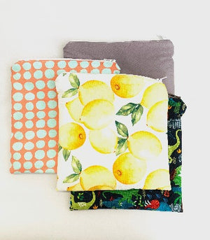 Zippered Snack Bags