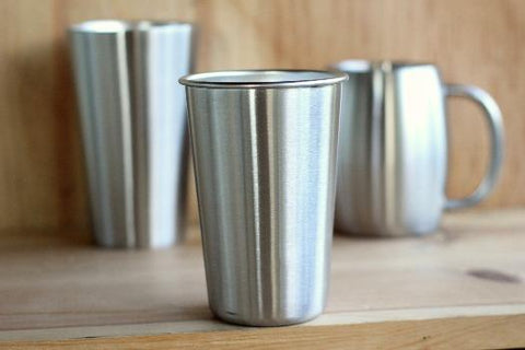 Steelys Stainless Steel - Single Wall Pint Cup