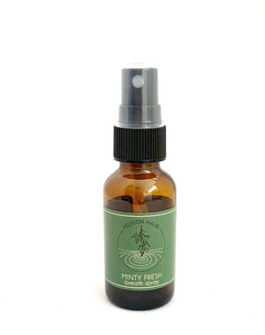 Minty Fresh Breath Spray in 1 oz. Bottle