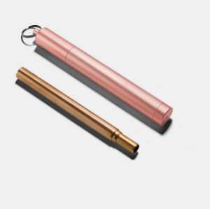 Collapsible Metal Travel Straw