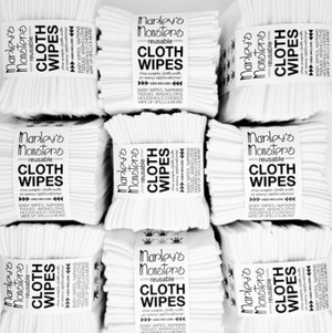 Cloth Wipes - Set of 12