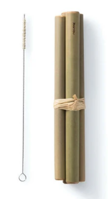 Bambu Straw Set with Cleaner