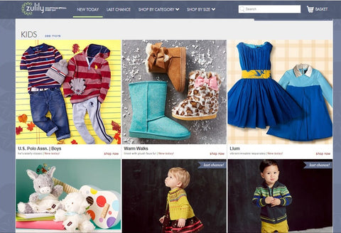 Zulily kids to sell online