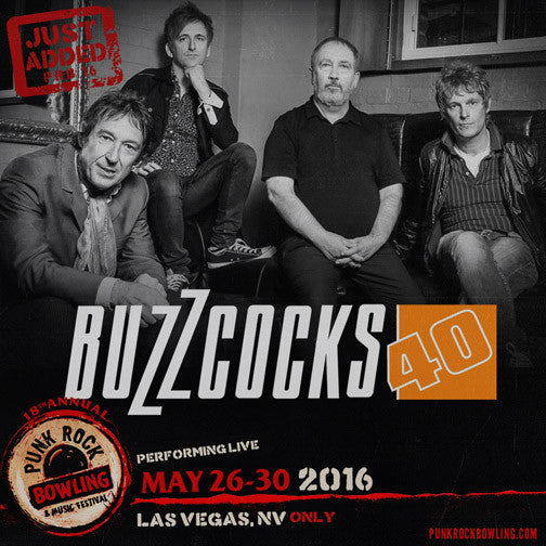 The Buzzcocks just added to Las Vegas lineup