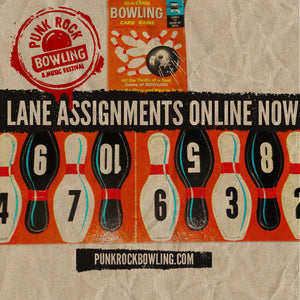 Lane Assignments announced!