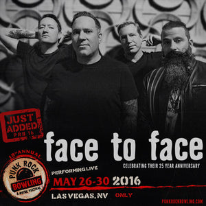 We're on a roll!!! Face to Face will be taking the stage in Las Vegas!