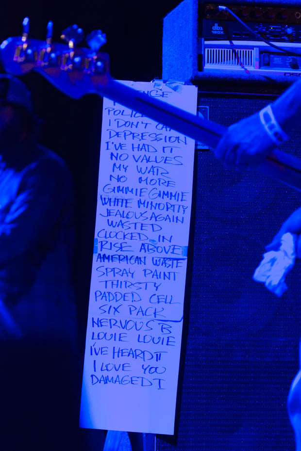 Flag Set List | PRB Vegas 2016