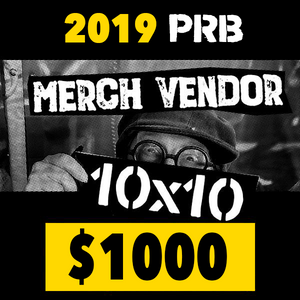 10 x 10 Merch Vendor Space