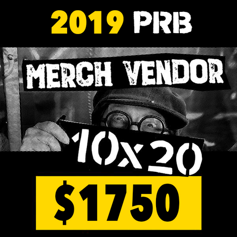 10 x 20 Merch Vendor Space