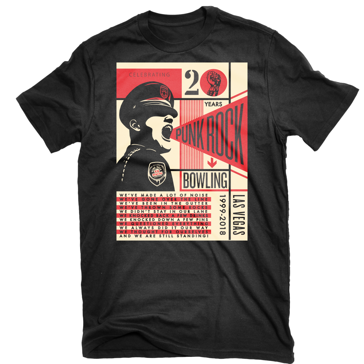 20 Year Tee Shirt by Shepard Fairey