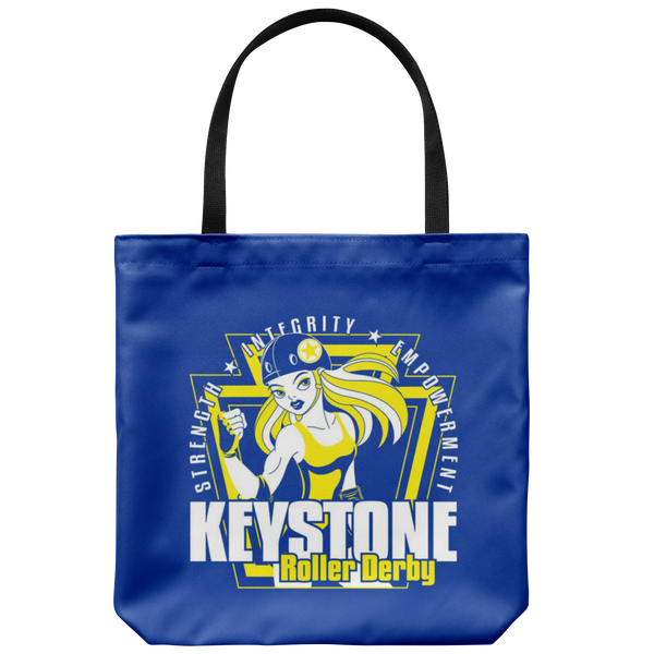 Keystone Roller Derby Tote Bag
