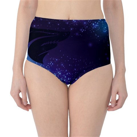 Design Your Own! Custom High Waist Swim Bottoms